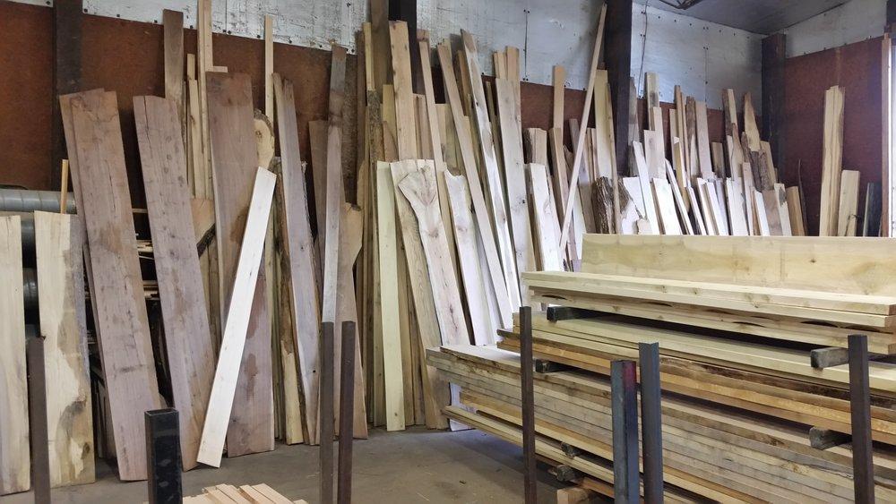 Great hardwood selection