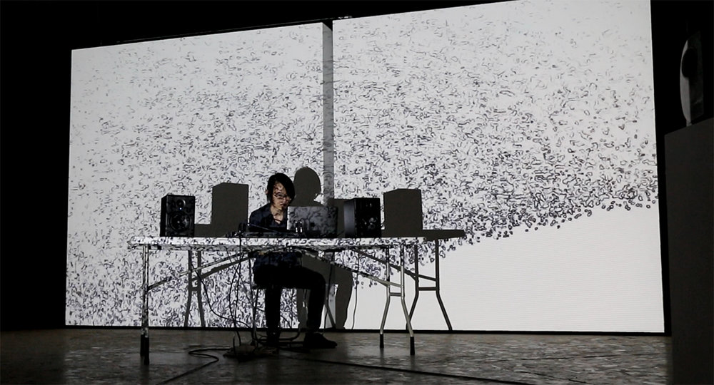 Not Fog, SNAP, Shanghai, audio visual version,2018