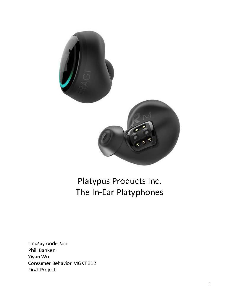 Product Marketing - Bluetooth Headphones