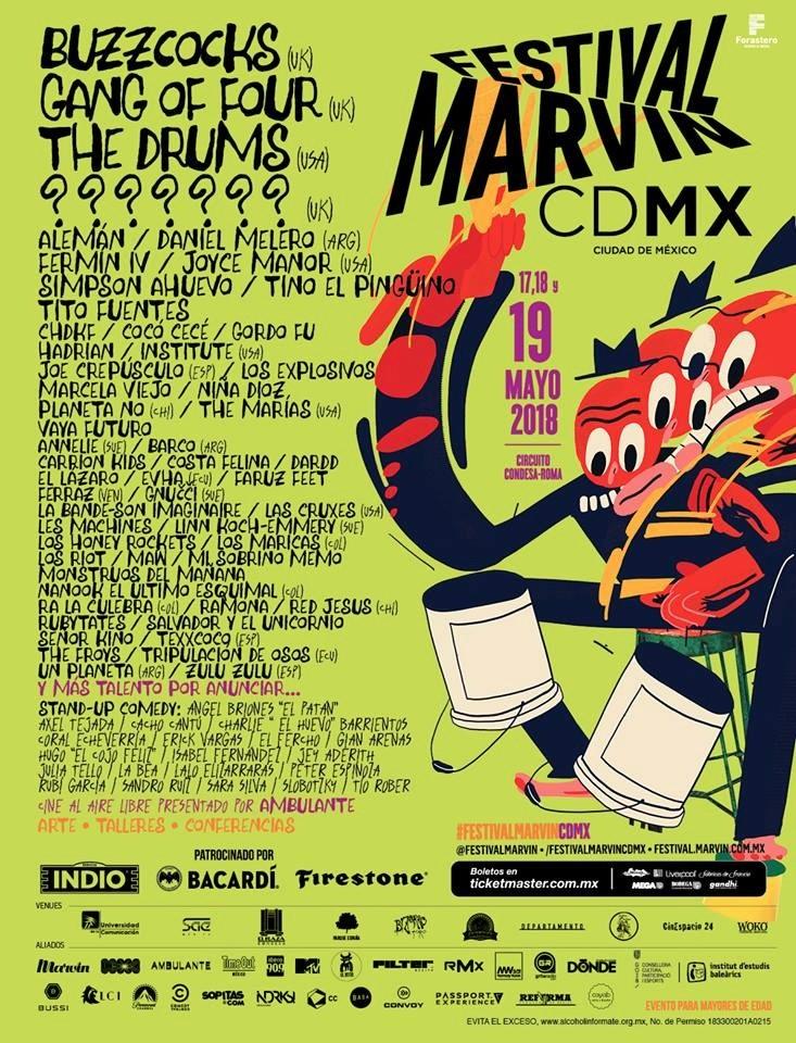 Tripulación de Osos – Festival Marvin