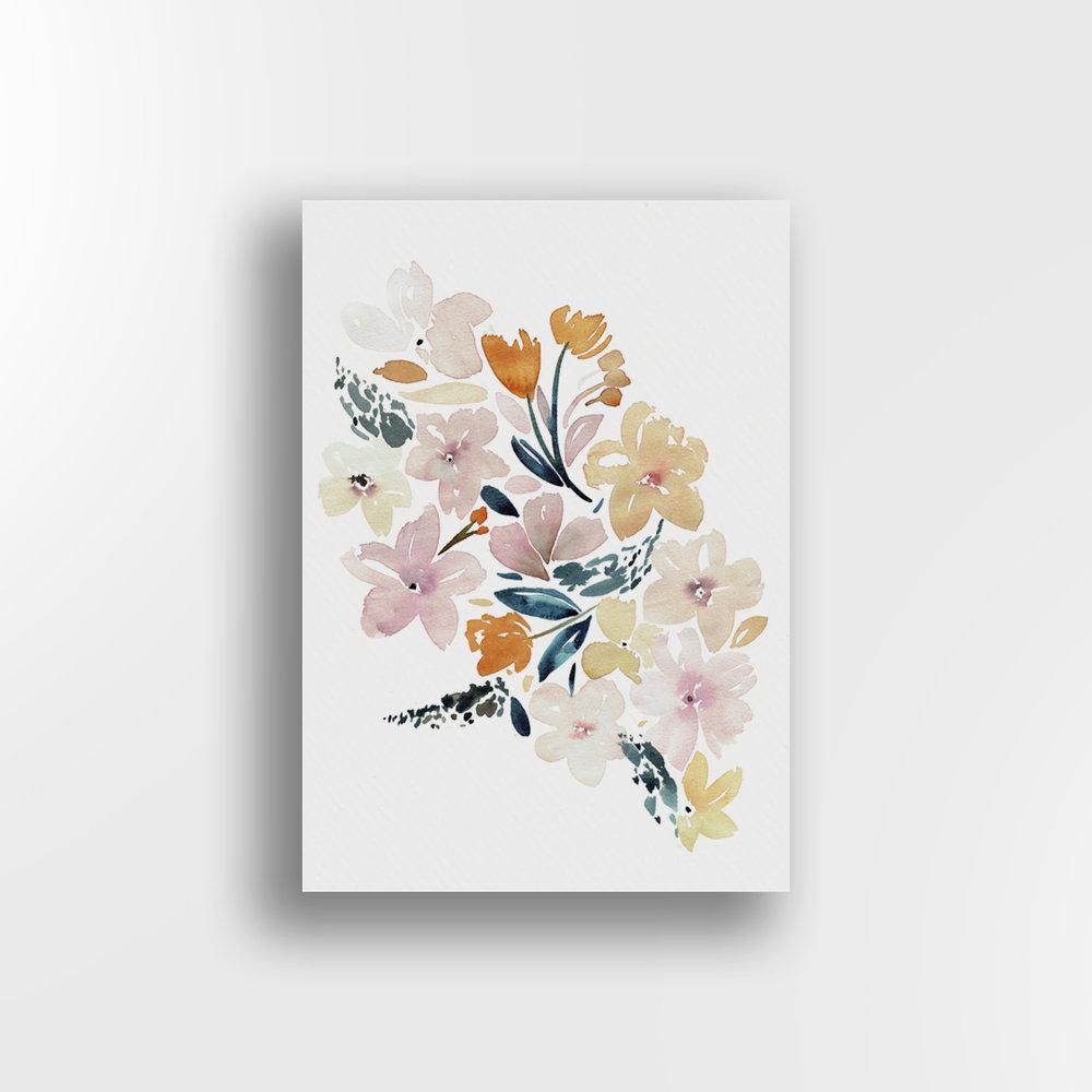 Sunshine Floral / Whole