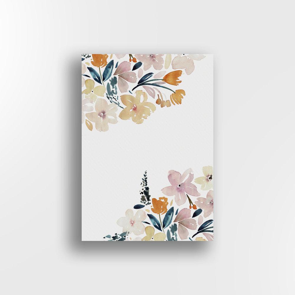 Sunshine Floral / Top & Bottom