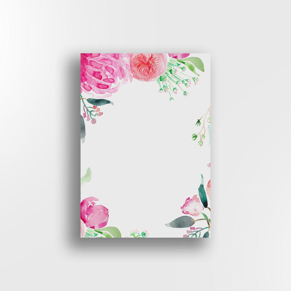 Secret Garden / White Background