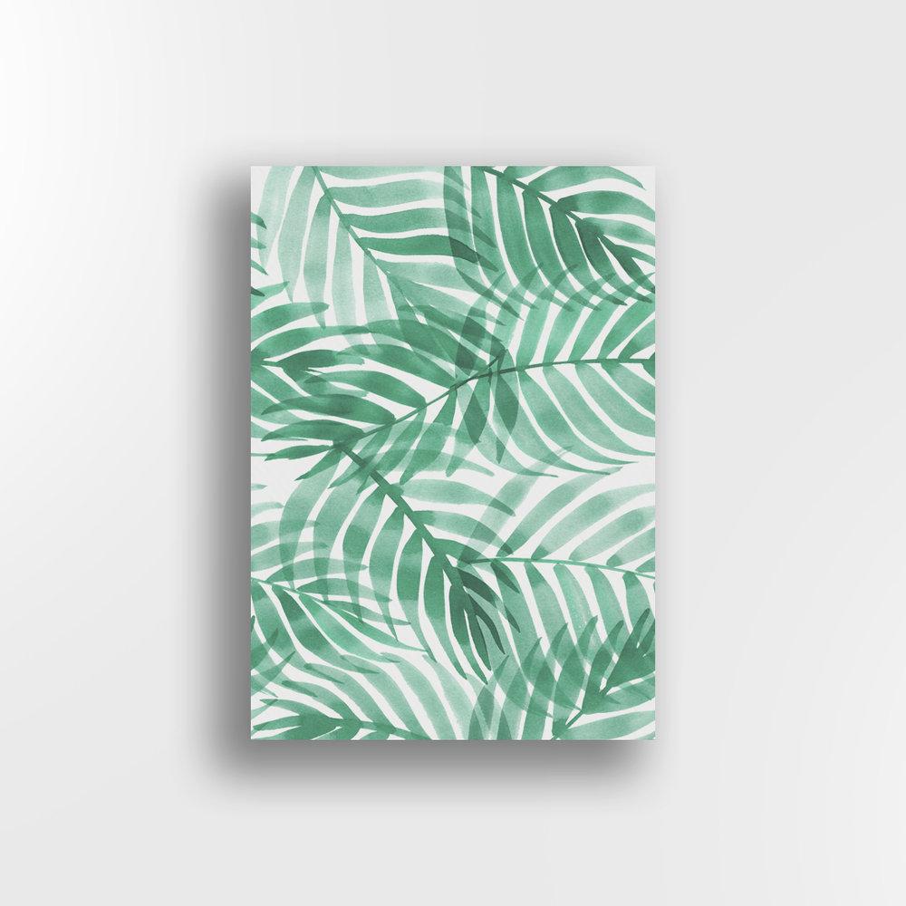 Layered Palms