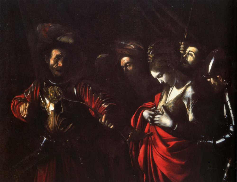Caravaggio,  The Martyrdom of Saint Ursula