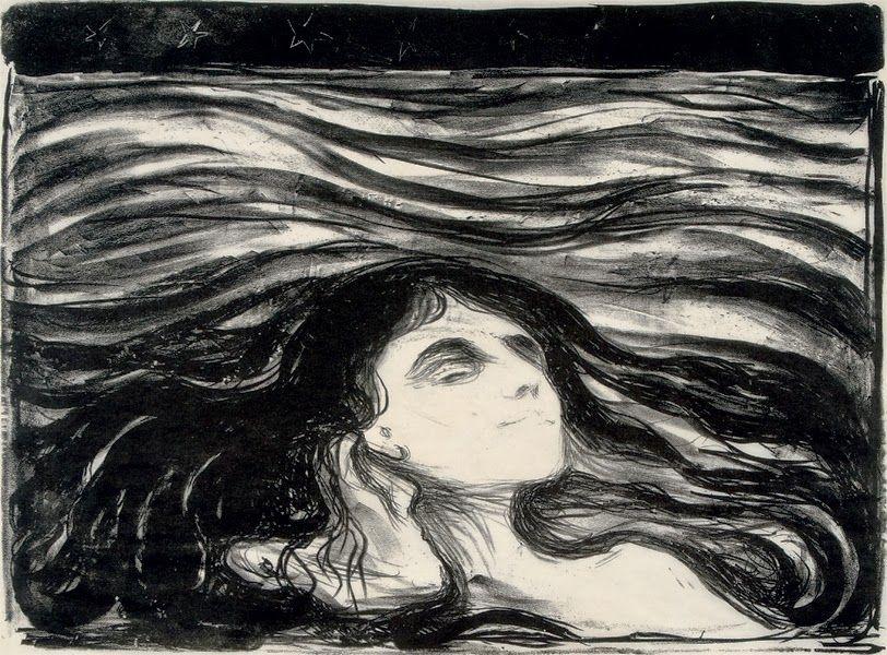 Edvard Munch:  Meer der Liebe