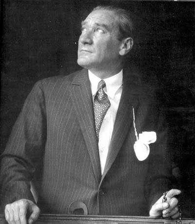 Mustafa Kemal Atatürk, the father of Turks