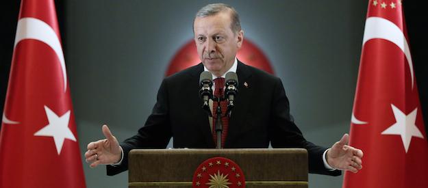 Recep Tayyip Erdoğan, Turkey's most powerful politician since Atatürk.