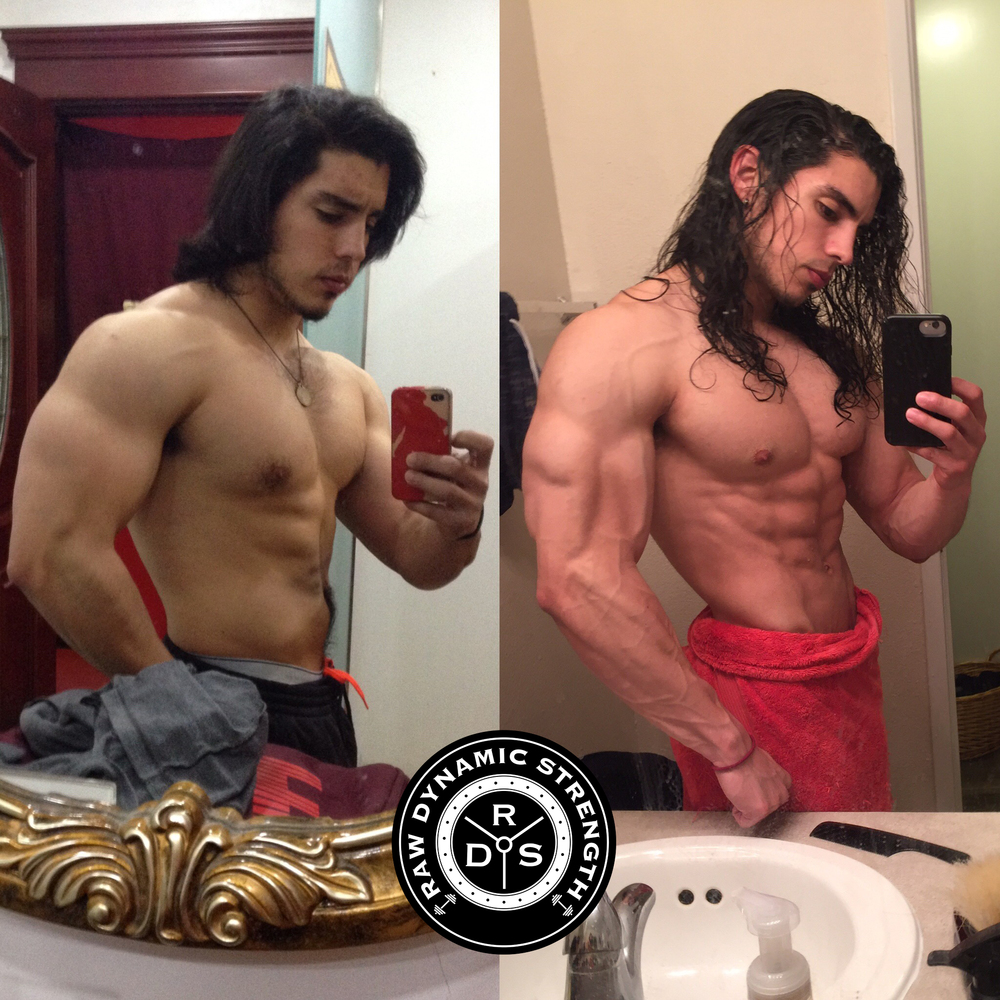 From 2016 to 2017 I decided to do a dirty bulk, I used the tactics in  The Quick & Dirty Guide to Physique Building  to get lean again!