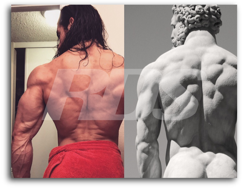 Physique Building :  How He Gained Pounds Of Aesthetic Muscle…Naturally