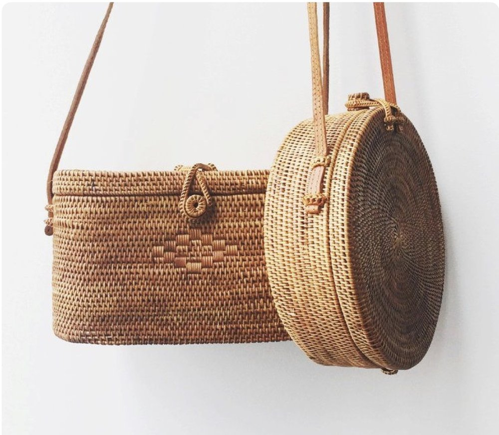 Straw bag - Vacation Perfection