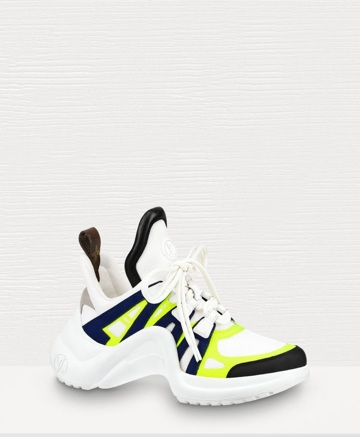 Louis Vuitton Archlights - Now that I am officially obsessed with these shoes I think I am ready to purchase another pair. Really hoping to find a pair with neon trim either yellow or pink.$1,090
