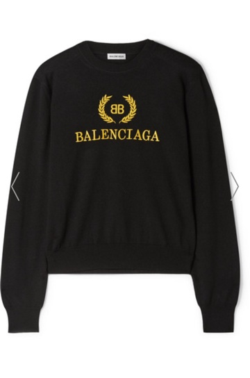 Balenciaga Sweater - I don't typically splurge on RTW pieces but this sweater is really classic and I can wear it year round. Cool nights in the summer or when traveling.$1,050