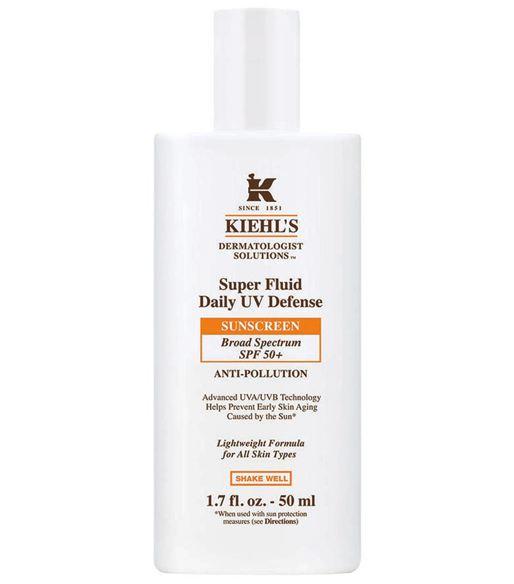 Kiehl's Super Fluid Sunscreen - A sunscreen that doesn't make me look grey and moisturizes my skin! This is a first for me and I really love the amount of spf in this sunscreen combined with the way it leaves my skin feeling.