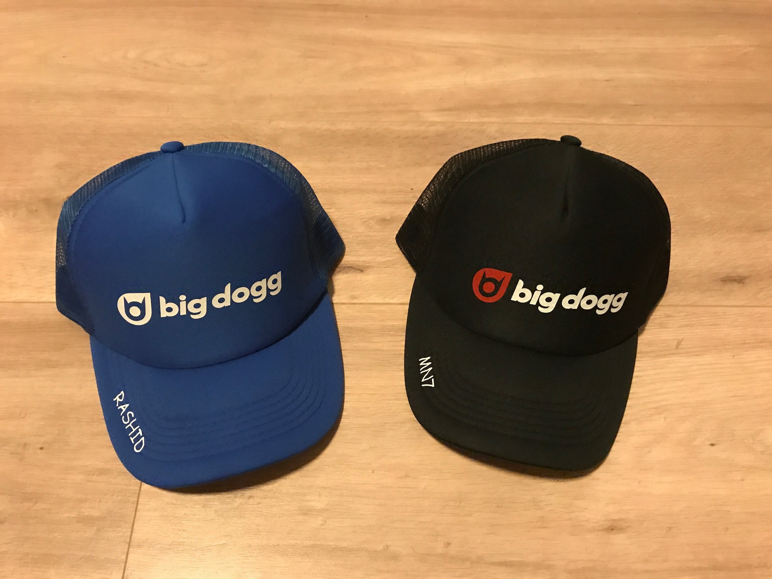 3fe6870914f Personalised trucker hats — Big Dogg