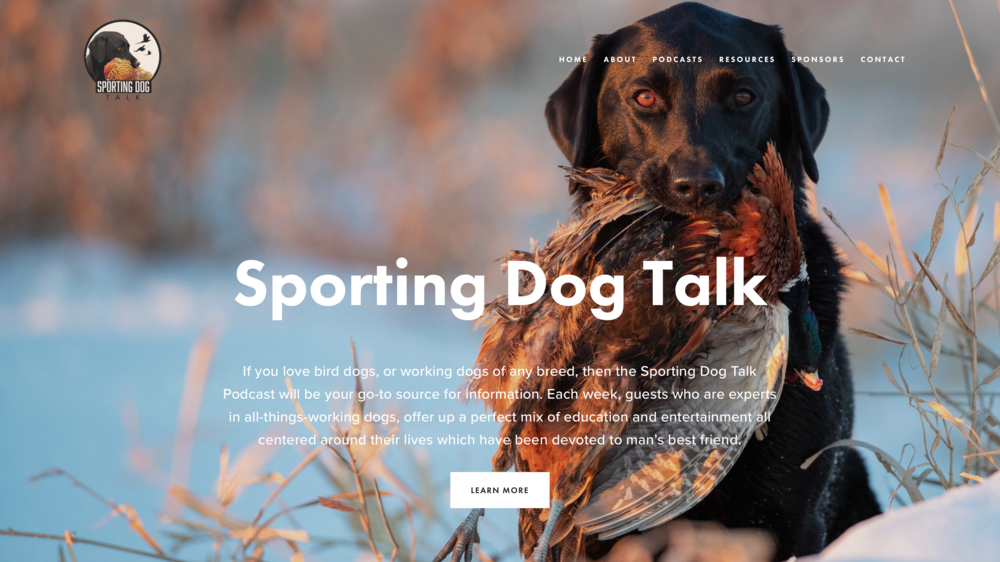 Sporting Dog Talk - If you love bird dogs, or working dogs of any breed, then the Sporting Dog Talk Podcast will be your go-to source for information.