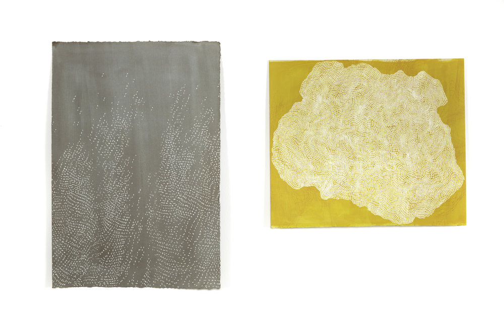 Matter (diffraction II) + Matter (yellow)