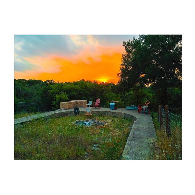 A photograph I took of my backyard yesterday at sunset. Texas rips my heart out of my chest on the daily but it's still my home and I still love it and I will continue to fight for it ⚡️ . . . . . #texas #photography #art #artist #photographer
