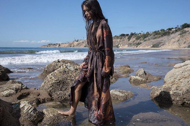 🧡❤️🖤 @theziran @sanpedrocharmaine @makeupbylaurendaily #photography #photographer #theziran #beach #losangeles #california #love #fashion