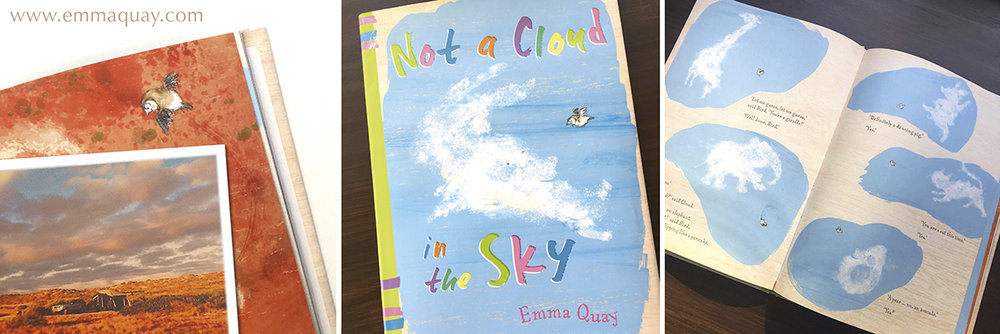 NOT A CLOUD IN THE SKY, a picture book by Emma Quay (ABC Books)