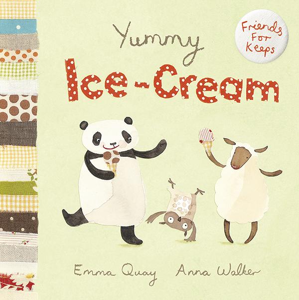 YUMMY ICE-CREAM by Emma Quay and Anna Walker (Scholastic Press) - www.emmaquay.com