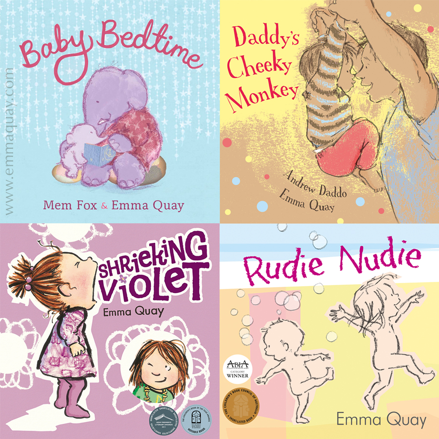 Picture books by Emma Quay https://www.emmaquay.com