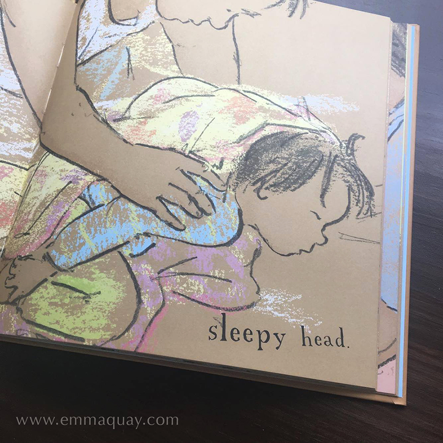 Illustration by Emma Quay from DADDY'S CHEEKY MONKEY by Andrew Daddo (ABC Books) • http://www.emmaquay.com