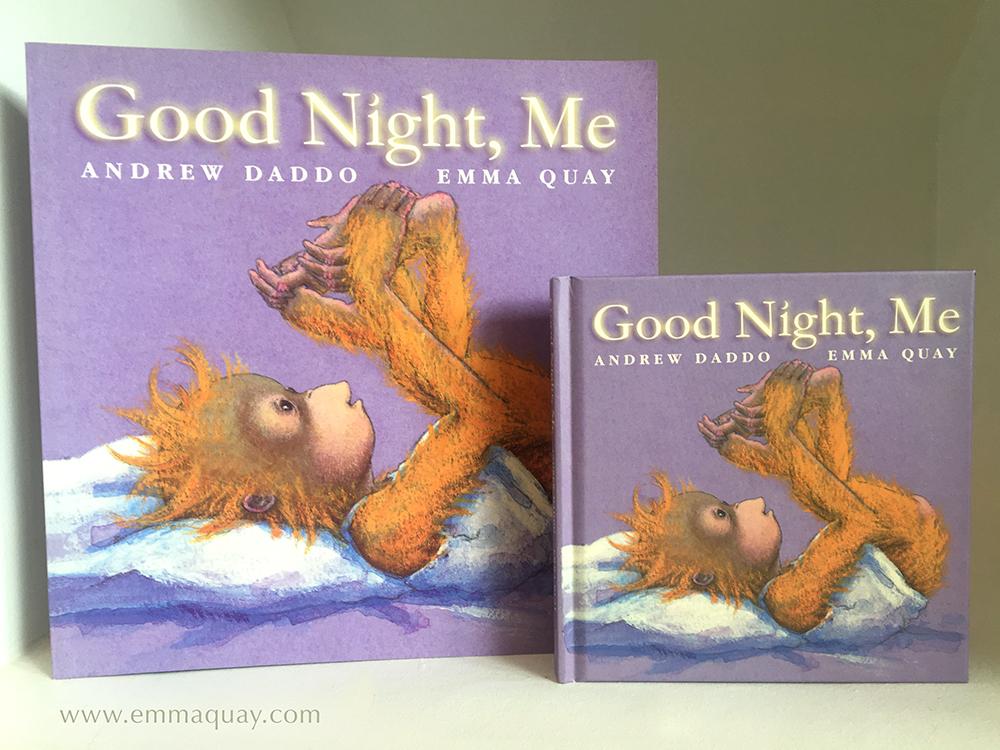 GOOD NIGHT, MEby Andrew Daddo and Emma Quay (Lothian Books) •http://www.emmaquay.com