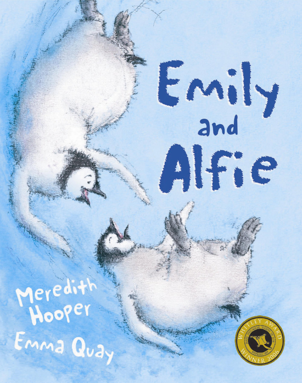 Cover of EMILY AND ALFIE, a picture book by Emma Quay and Meredith Hooper (Hachette Australia)