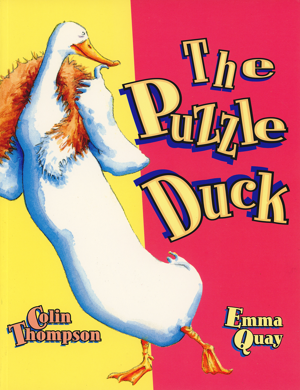 Cover of THE PUZZLE DUCK by Emma Quay and Colin Thompson (Random House Australia)