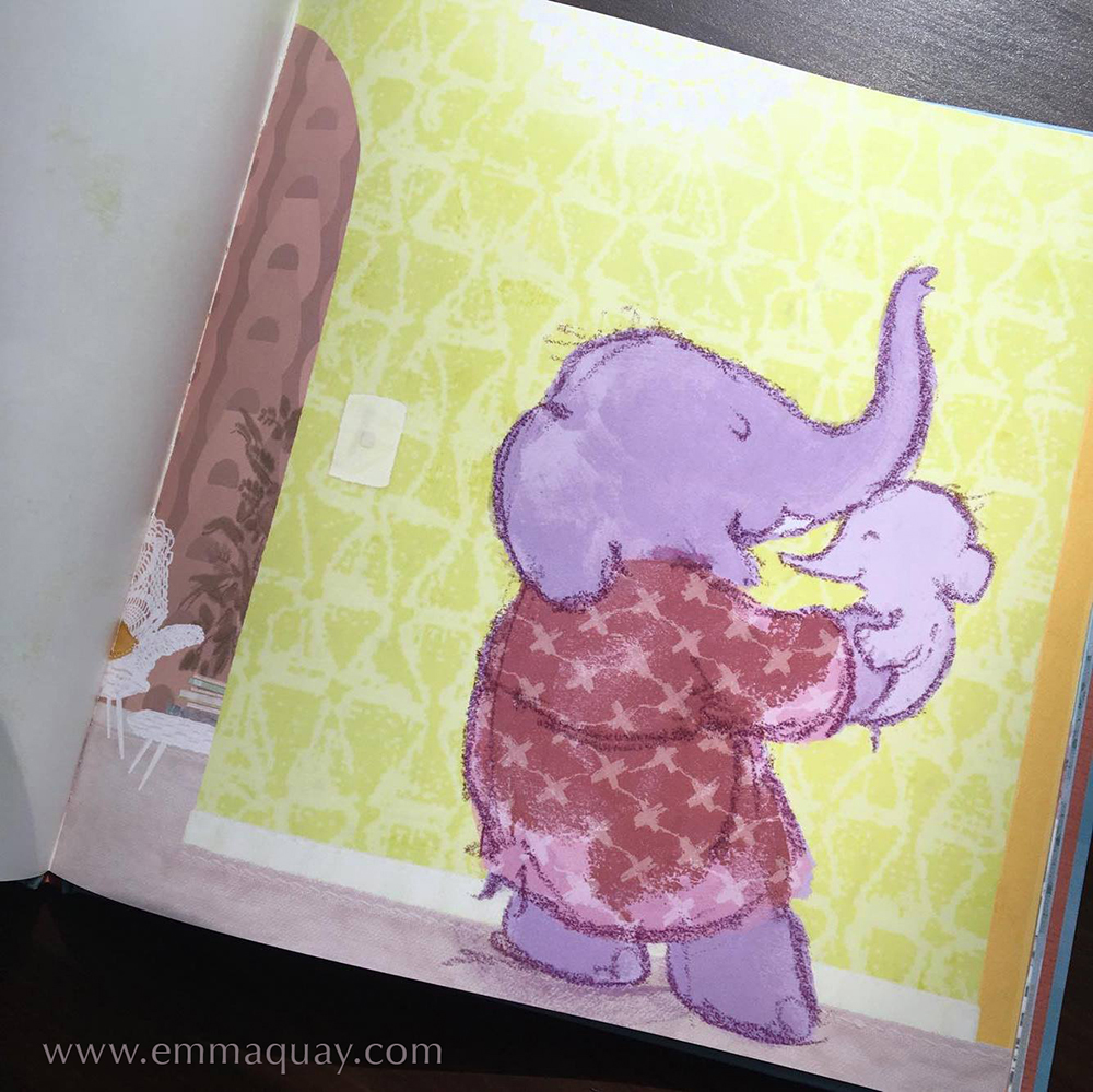 Illustration by Emma Quay from BABY BEDTIME by Mem Fox (author) and Emma Quay (illustrator), published by Viking/Penguin Books Australia & Beach Lane Books, USA • http://www.emmaquay.com