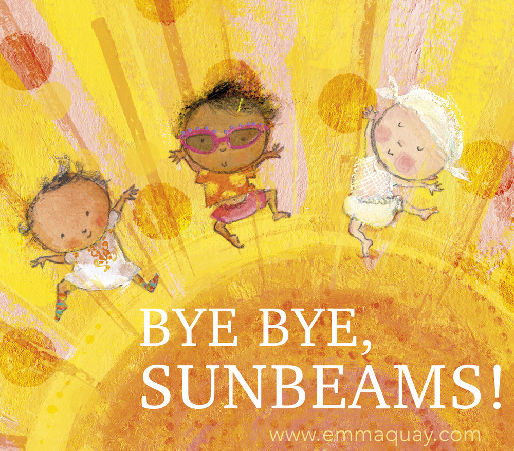 Illustration by Emma Quay from MY SUNBEAM BABY (ABC Books, October 2018) www.emmaquay.com