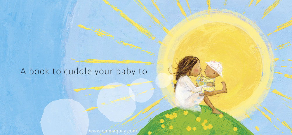 MY SUNBEAM BABY by Emma Quay (ABC Books) - A book to cuddle your baby to - www.emmaquay.com