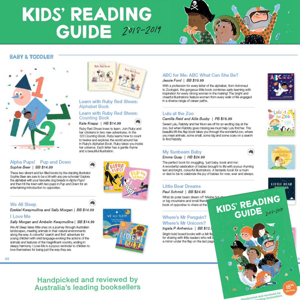 Kids' Reading Guide  2018-2019, Baby & Toddler section