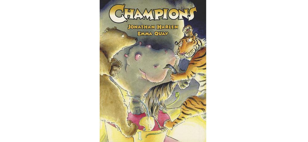 CHAMPIONS by Jonathan Harlen and Emma Quay (Random House Australia) - www.emmaquay.com