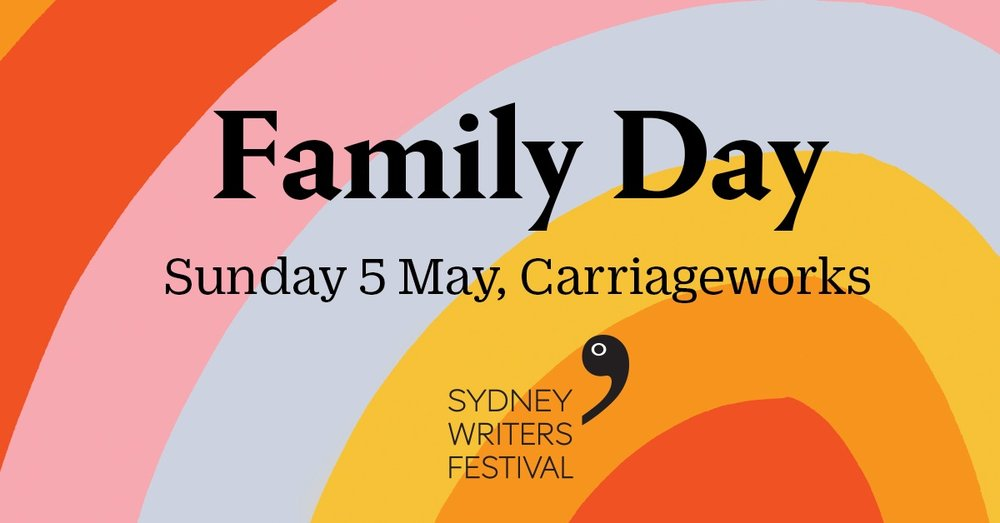 Sydney Writers' Festival    —  I'll be creating an illustration live in  THE ILLUSTRATION SPACE  at noon on Sunday 5th May. This year's  program  has just been announced.