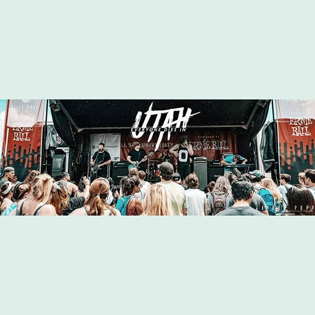 Missing Warped Tour already! #foreverwarped #warpedtour2018 #ediu #everyonediesinutah #ernieball #fullsailuniversity