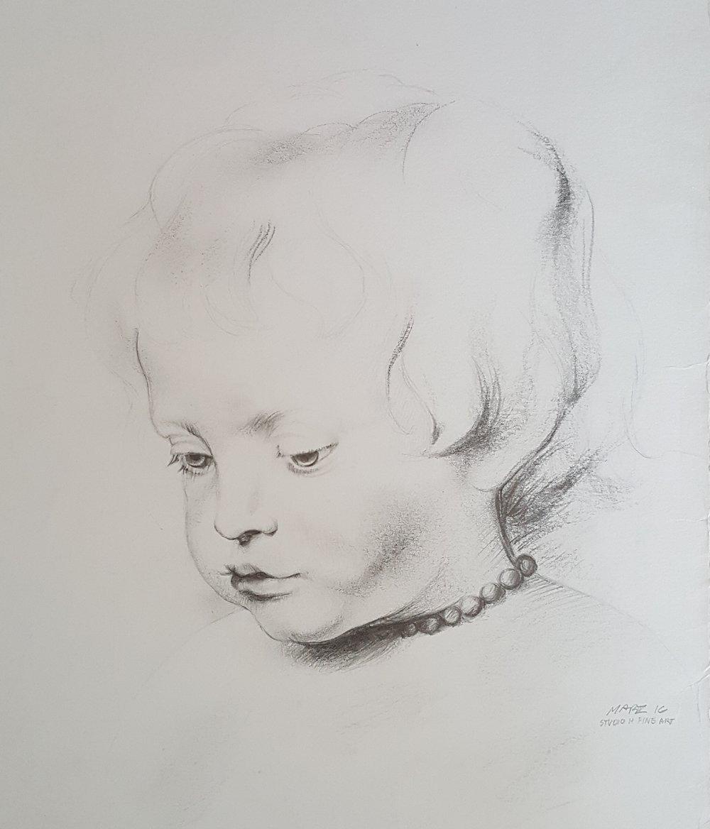 "Ruben's ""Portait of a Boy"" (Master Study)"