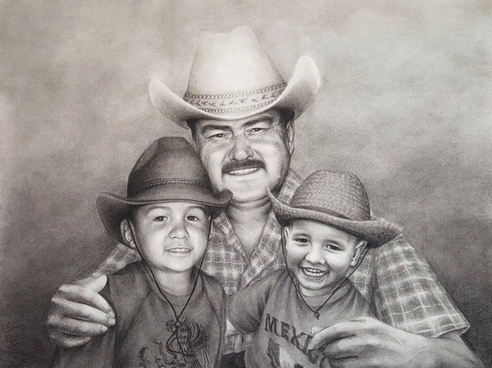 Abuelo Javier, Joey & Benjamin