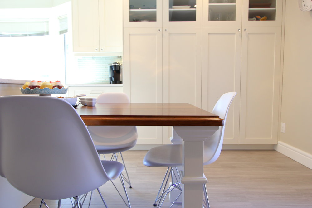 Kitchen Dining Table White