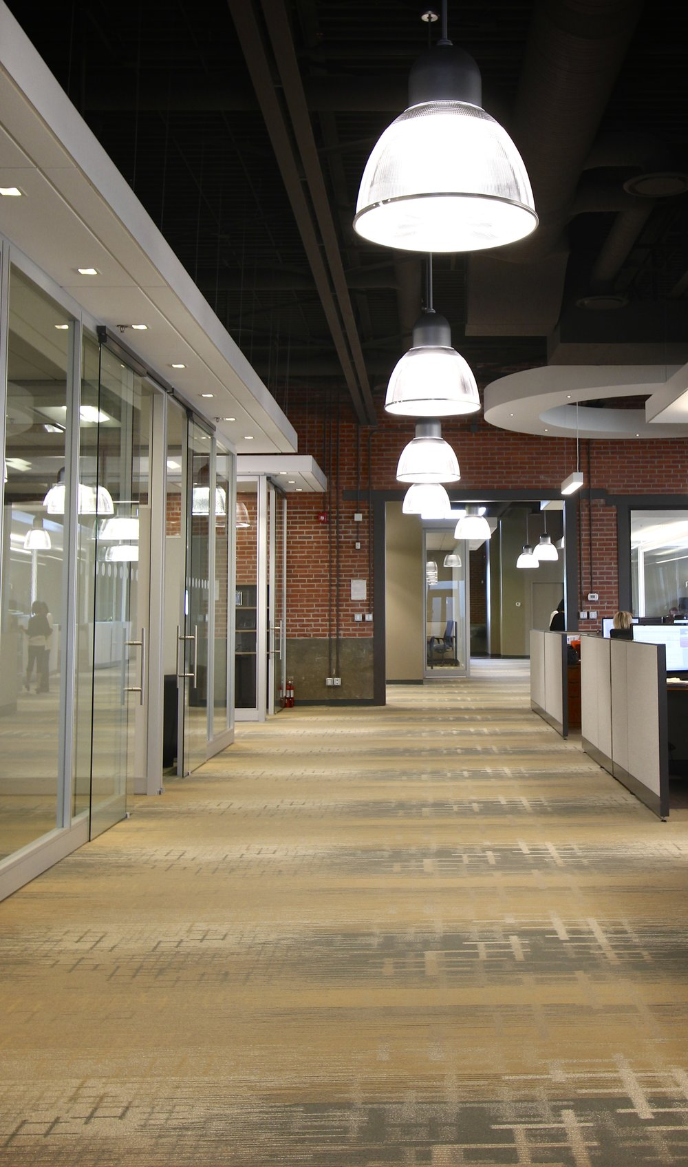 Metric Design, Interior Design, Renovations, Saskatoon, Pendant Light, Office Lighting, Office Partitions.jpg