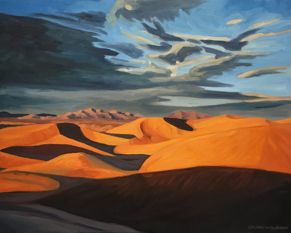Dunes at Sunset      16x20      Oil on Canvas      1998