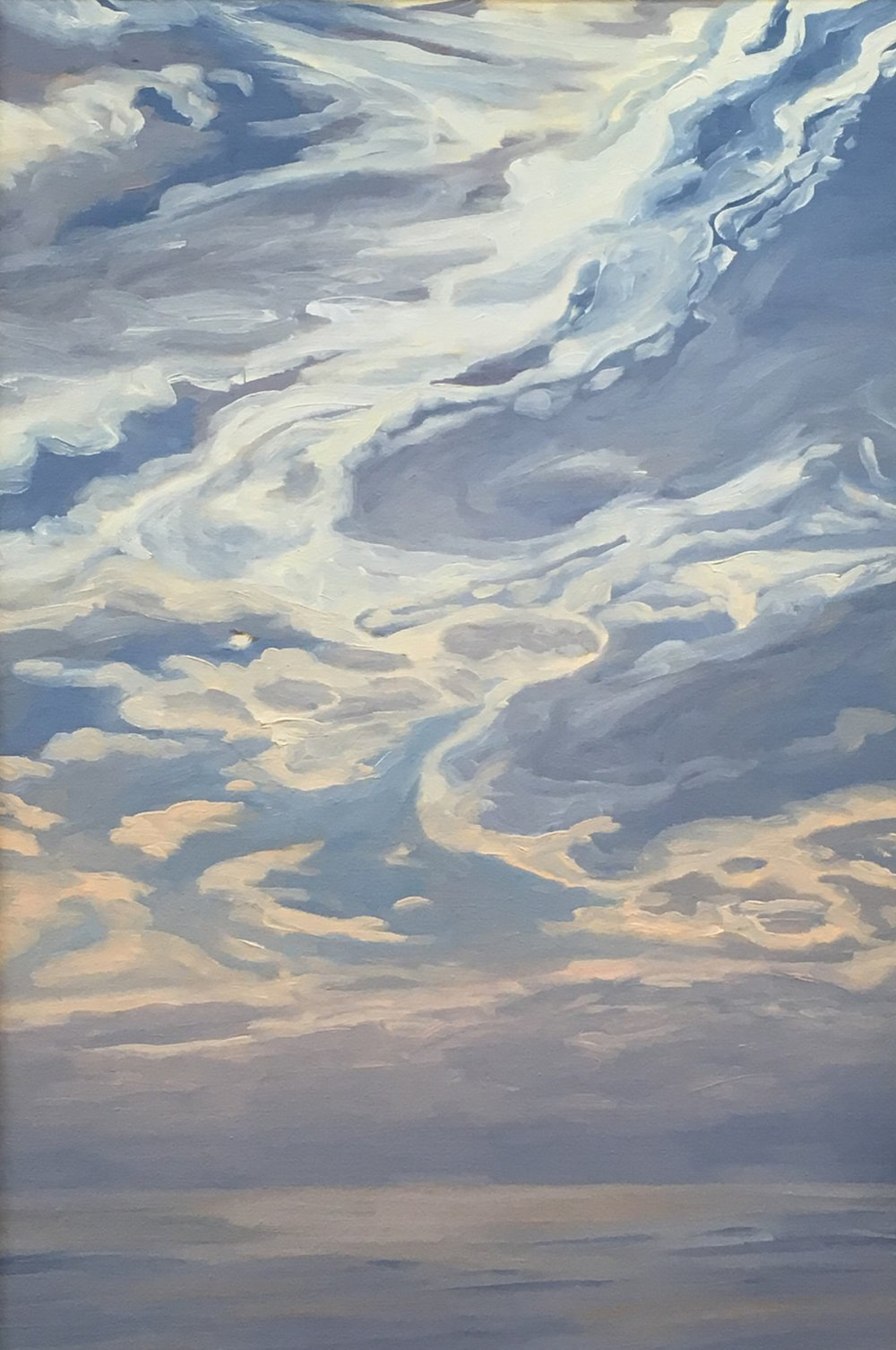 Pacific Overture II   28x20      Oil on Panel        2002