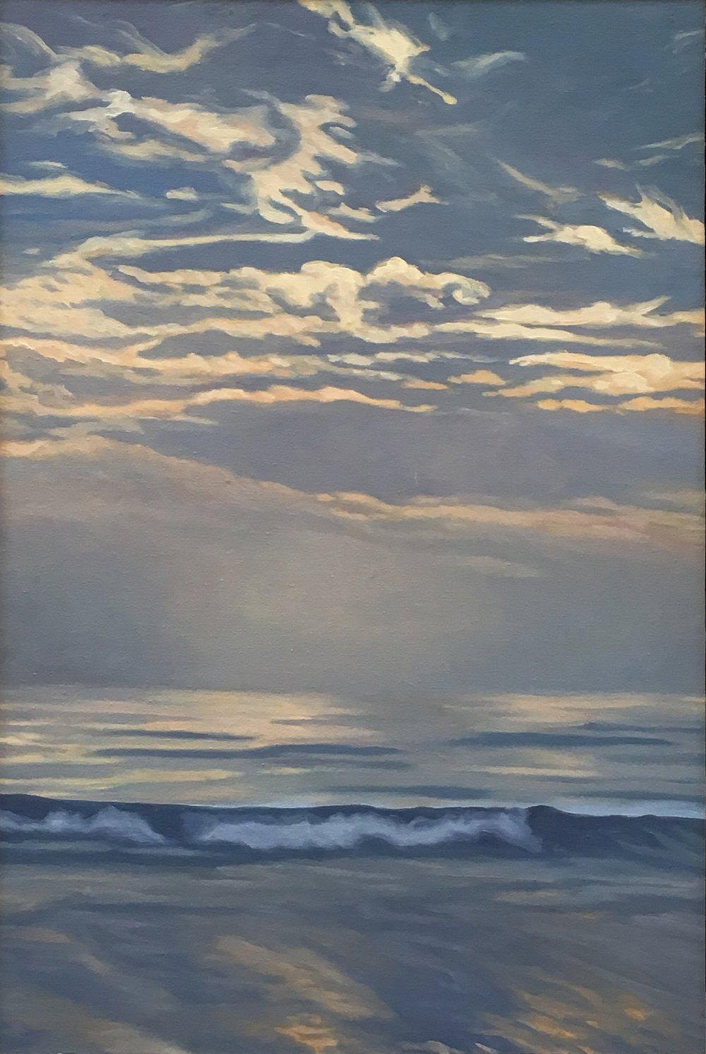 Pacific Overture III  28x20  Oil on Panel  2002