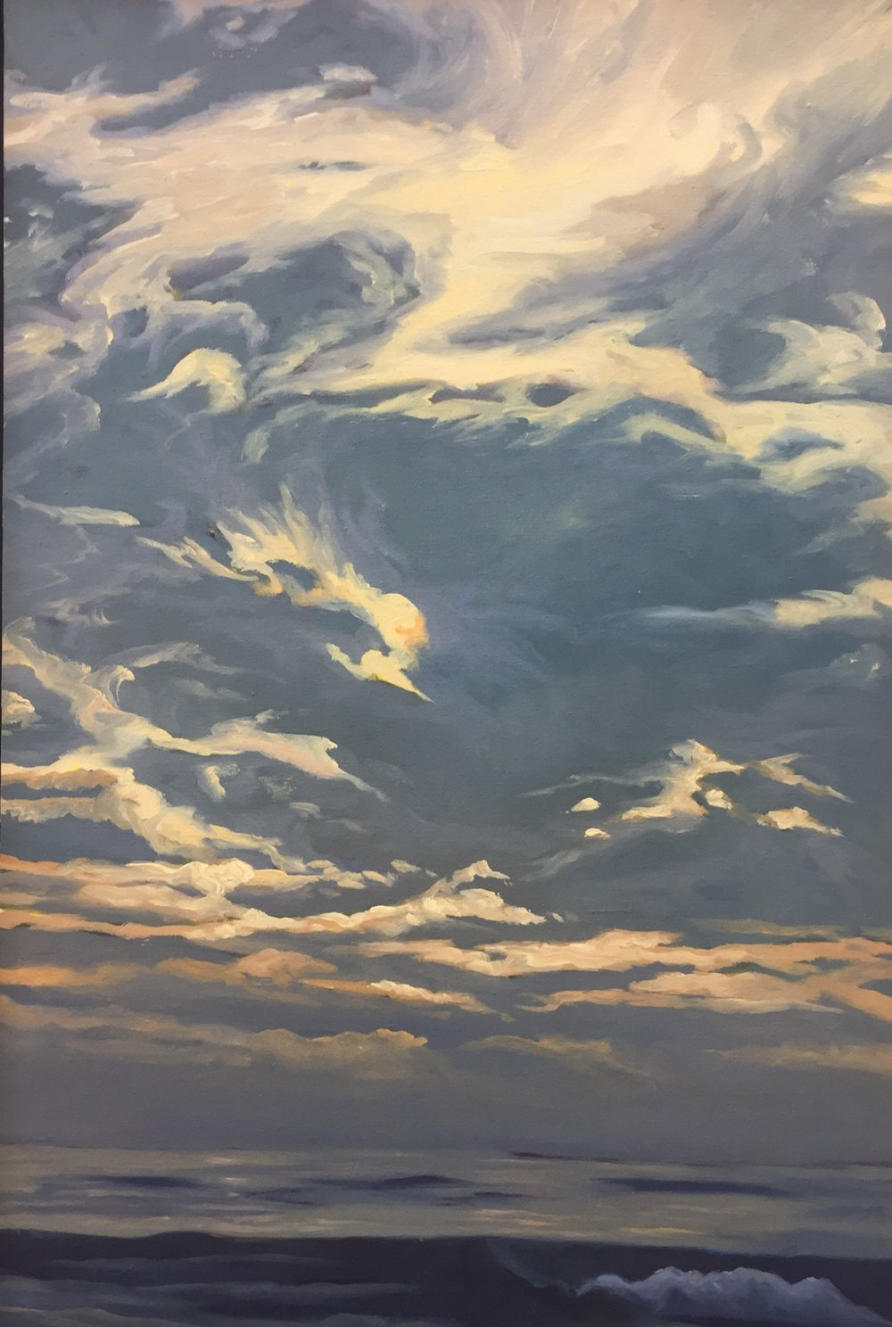Pacific Overture VI    24x16      Oil on Panel       2002