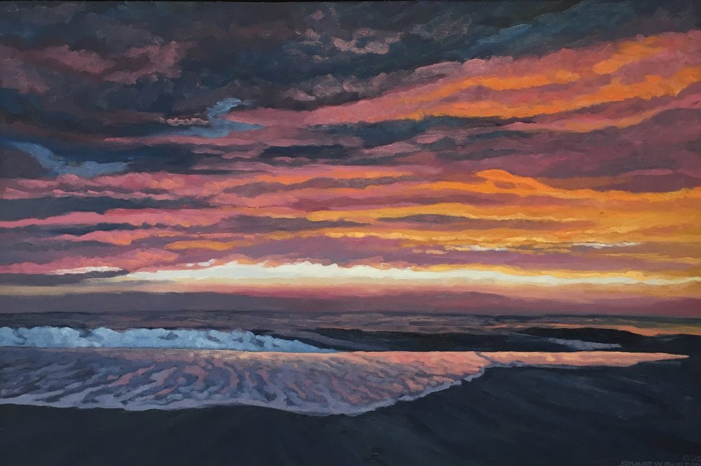 Pink Sky       20x30      Oil on Canvas       2005