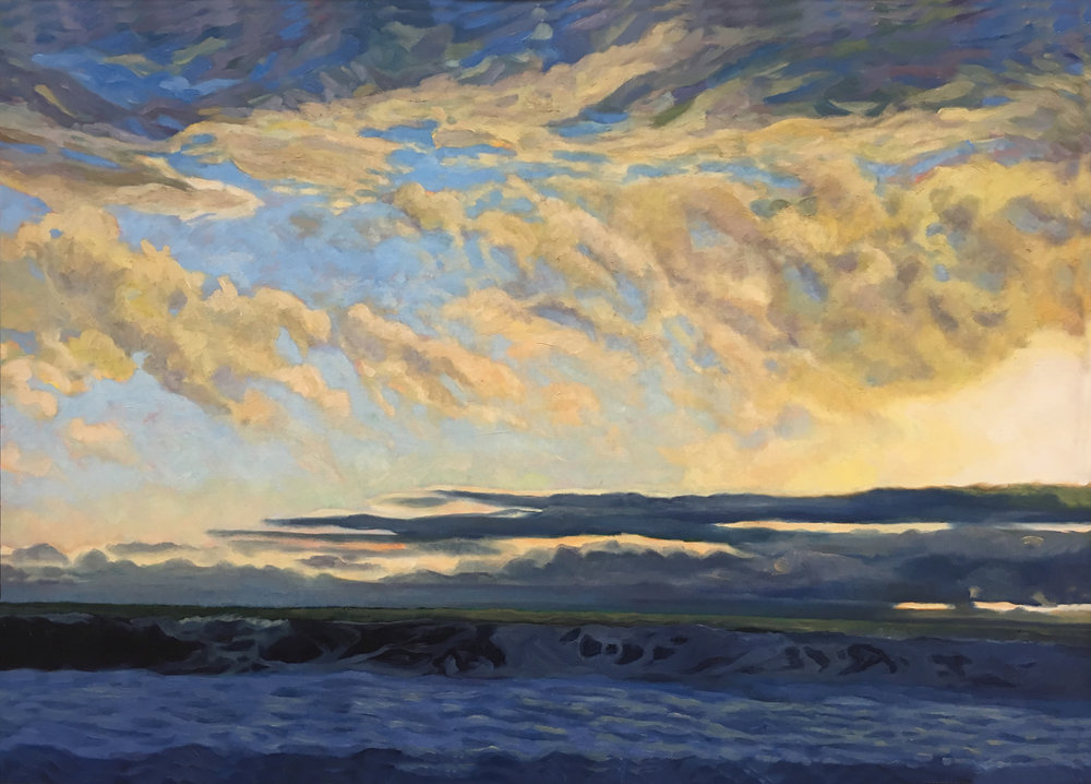 After the Storm     27x38      Oil on Canvas       2011
