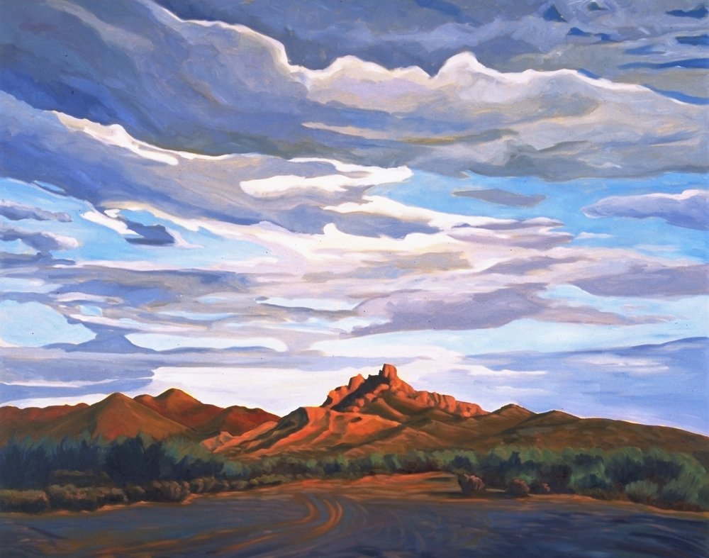 End of The Road      36x48      Oil on Canvas         1996