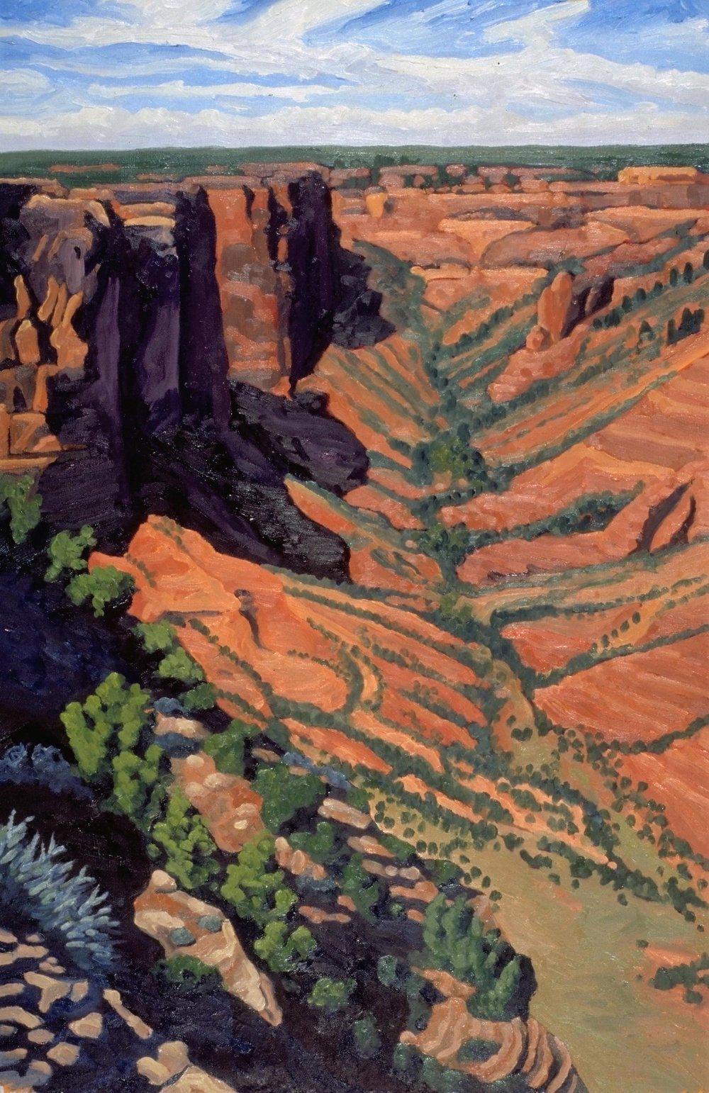 Spirit Shadows  30x20  Oil on Canvas