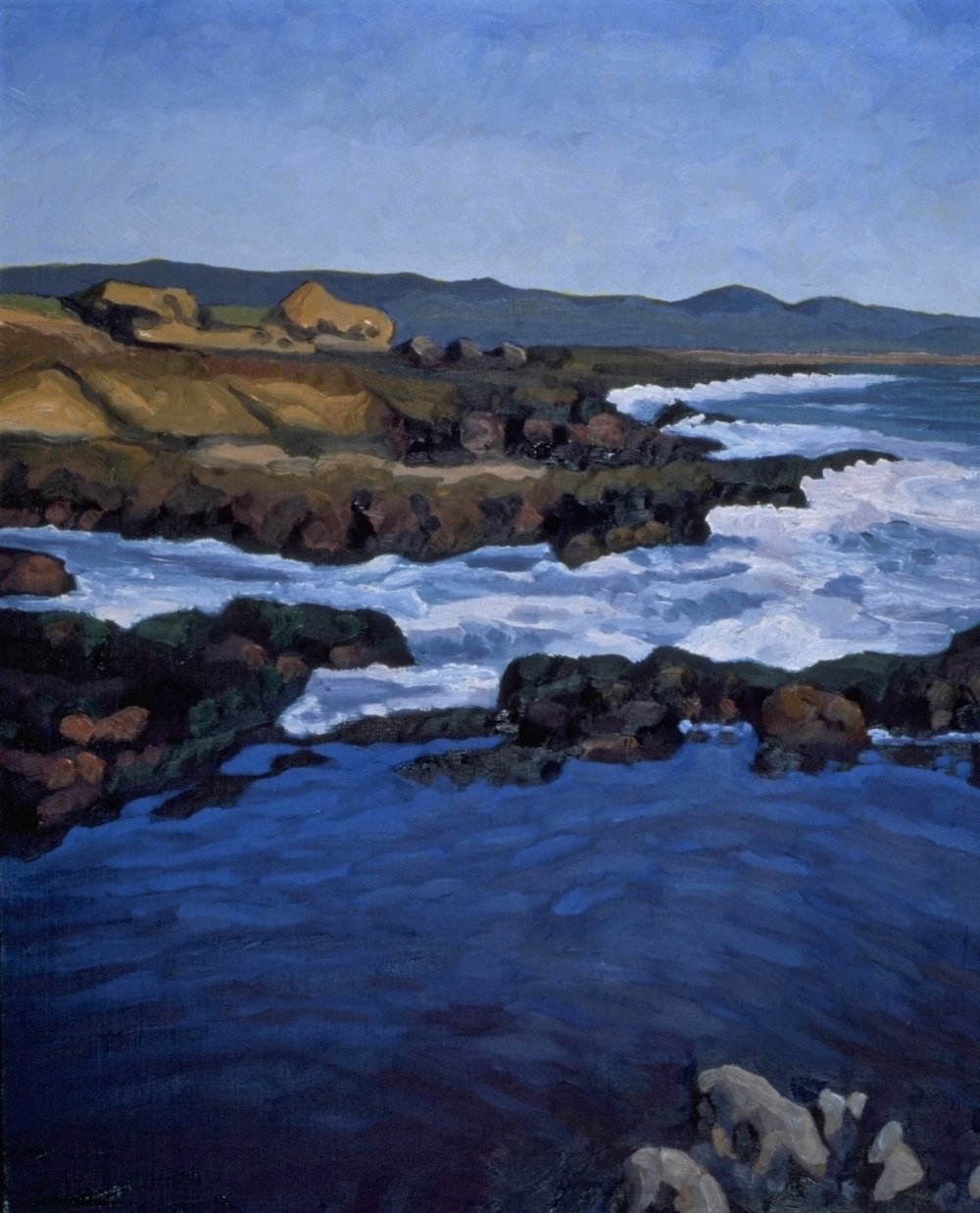Deep Pool, Baja  16x20  Oil on Canvas  2002